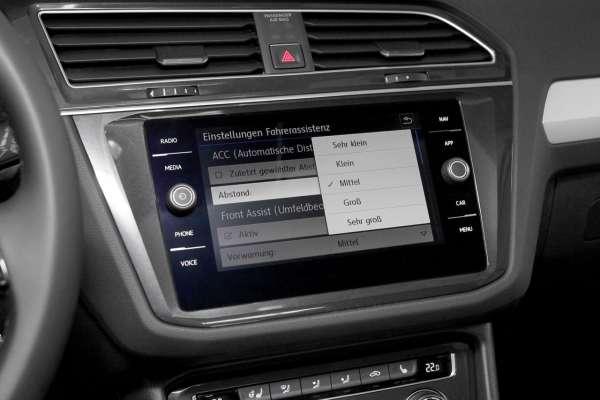 41400 - Automatische Distanzregelung (ACC) VW Tiguan AD1