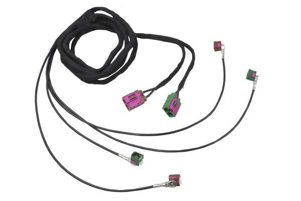 35719 - Kabelsatz TV-Antennenmodule für Audi A8 4E MMI 2G
