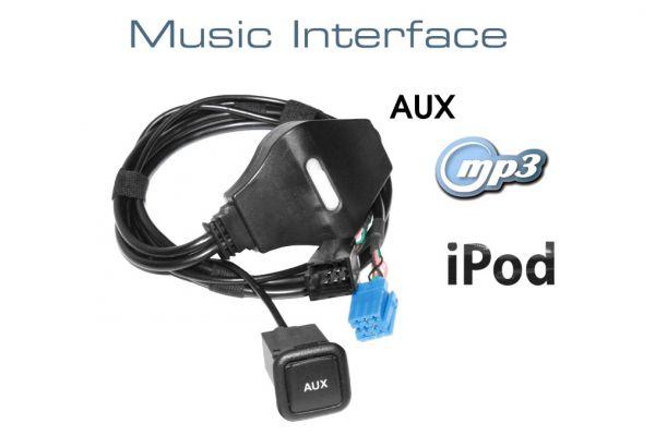 36671-1 - Music Interface AUX Buchse - Mini ISO für Audi, VW, Seat, Skoda