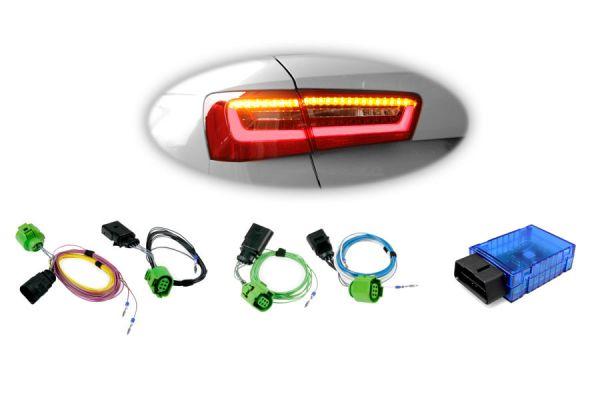 38896 - Kabelsatz + Codier Dongle LED-Heckleuchten für Audi A6 Avant (4G)