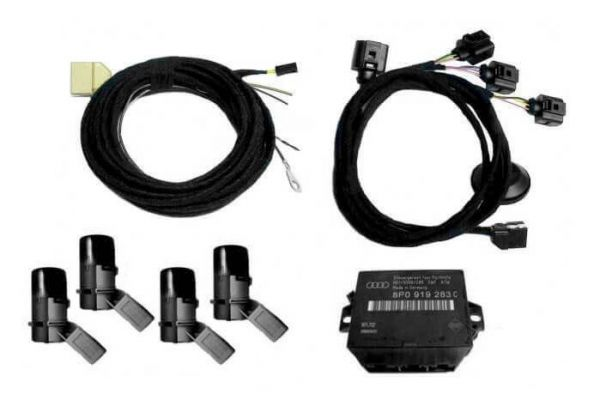 36481 - Komplett-Set Audi Parking System APS Heck für Audi TT 8J