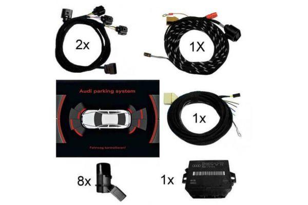 38198 - Komplett-Set APS+ (optische Anzeige MMI) Front & Heck für Audi A8 4H