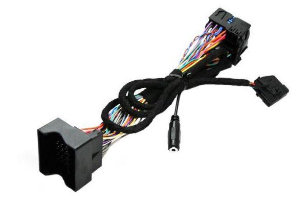 36426 - Kabelsatz Ersatzteil für die FISCON Freisprecheinrichtung Quadlock für Audi, Seat