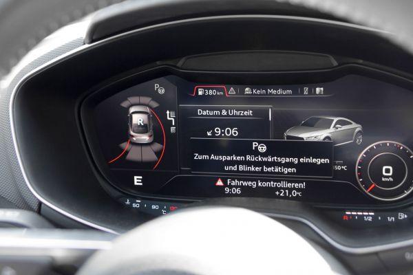 42690 - Komplett-Set Parklenkassistent für Audi TT 8S (FV) Einparkhilfe hinten & vorne vorhanden