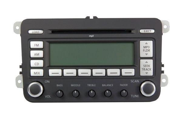 1K0035180M - VW US Radio Premium 7 MP3 6-fach CD-Wechsler NEU