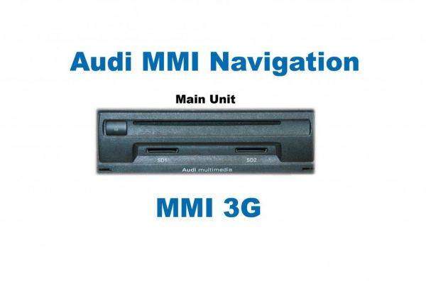 37102-1 - Umrüst-Set MMI3G Navigation Plus Audi A6 4F