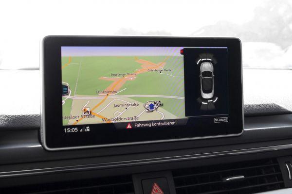 Komplett-Set APS+ plus (optische Anzeige) Front & Heck für Audi A5 F5 2K1