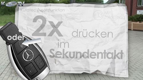 38371 - Comfort Heckklappenmodul für Mercedes-Benz E-Klasse W212