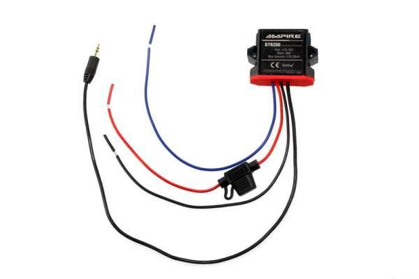 41538 - A2DP Bluetooth Receiver 3,5 mm Klinke Ampire BTR200