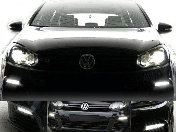 LED Tagfahrleuchten für VW Golf 6 Halogen
