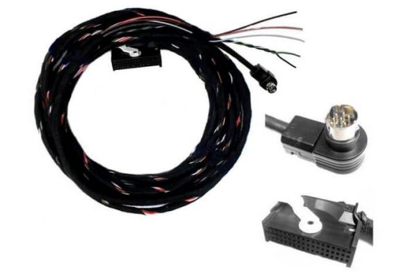 33335 - Kabelsatz TV Tuner VW MFD AUDI RNS D mit Can