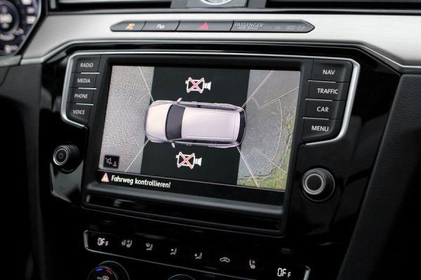 Komplett-Set Front- und Rückfahrkamera für VW Tiguan AD1 2JB, 2JL, 2JP