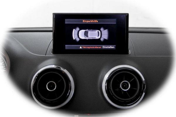 Komplett-Set APS+ Front und Heck für Audi A3 8V Kurzheck, Sportback bis Mj. 2016