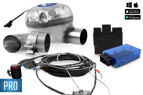 40611 - Universelles Komplettset Active Sound inkl. Booster - Außenmontage VW, Skoda, Seat PRO