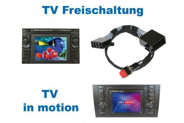 33992 - TV-Freischaltung für VW MFD / Audi RNS D Navi+ Plus Plug & Play