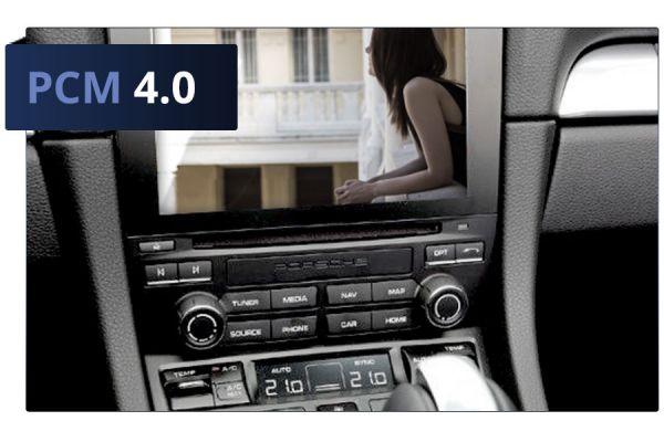 41241 - TV / DVD Freischaltung für Porsche PCM 4.0
