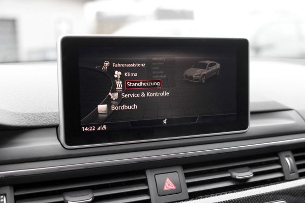 41745 - Nachrüst-Set Standheizung für Audi A5 F5 3.0 TDI, TS8