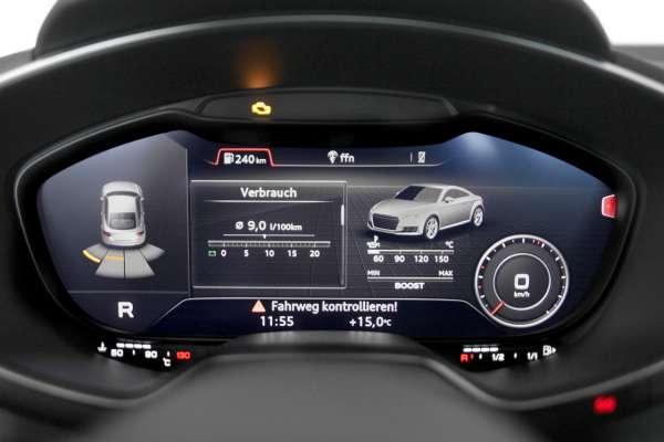 40947 - Komplett-Set Audi Parking System APS Heck für Audi TT 8S (FV)