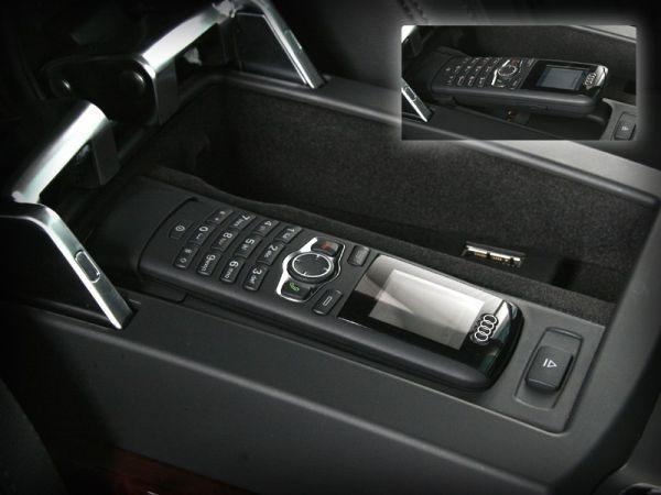 40470 - Nachrüst-Set SAP Bedienhörer Farbdisplay für Audi A4 8K