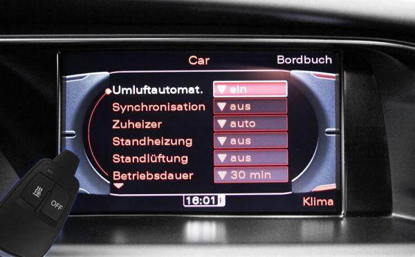 40673 - Nachrüst-Set Standheizung für Audi Q5 8R TM4