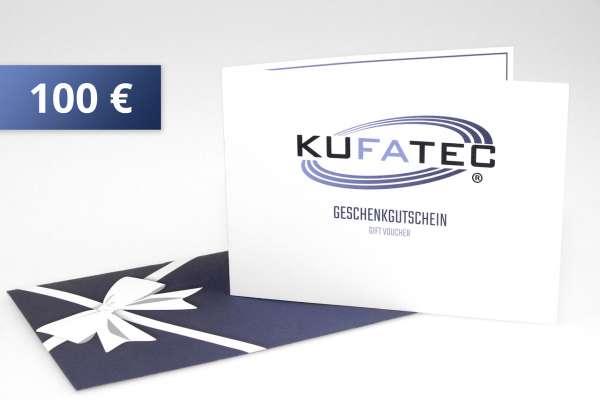 Gutschein100 - KUFATEC Geschenkgutschein 100 EUR
