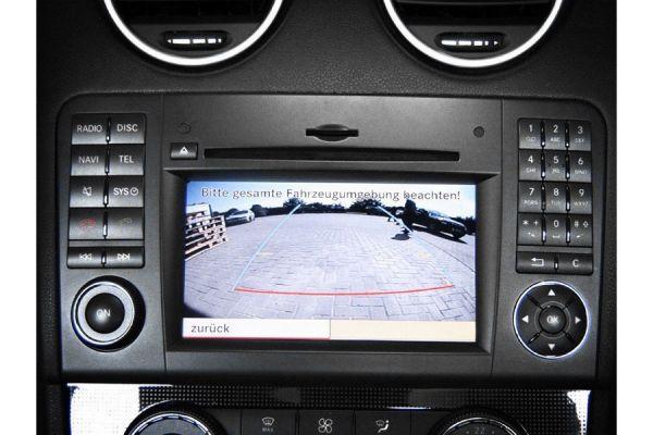 Komplett-Set Rückfahrkamera für Mercedes M-Klasse W164/GL-Klasse X164 NTG 2
