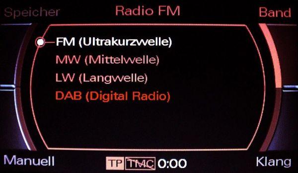 37093-1 - Kabelsatz digitales Radio DAB für Audi A6 4F MMI 2G Limousine