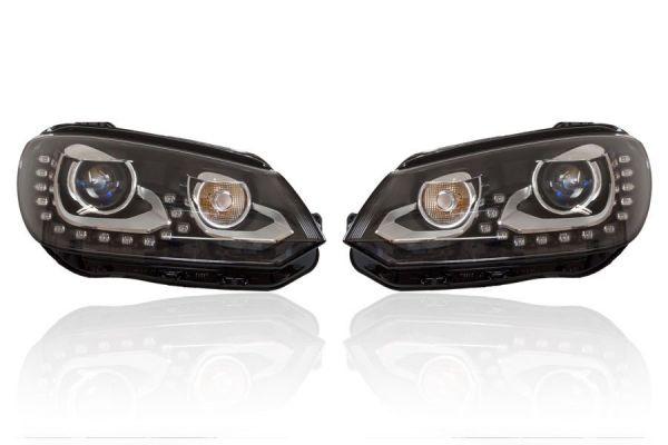 38588 - Bi-Xenon-Scheinwerfer-Set LED TFL inkl. aLWR für VW EOS ab 2012