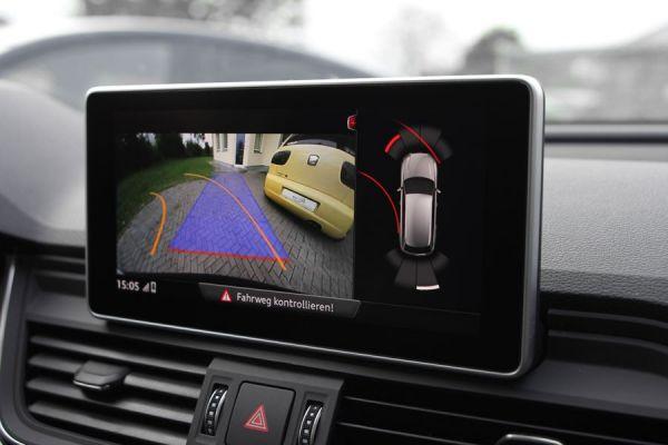 Komplett-Set APS+ plus (optische Anzeige) Front & Heck für Audi Q5 FY PR. Nr. 2K1, 2K5, 2K6