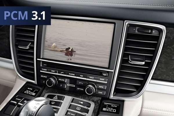 37200 - TV-Freischaltung für Porsche PCM 3.1 Plug & Play