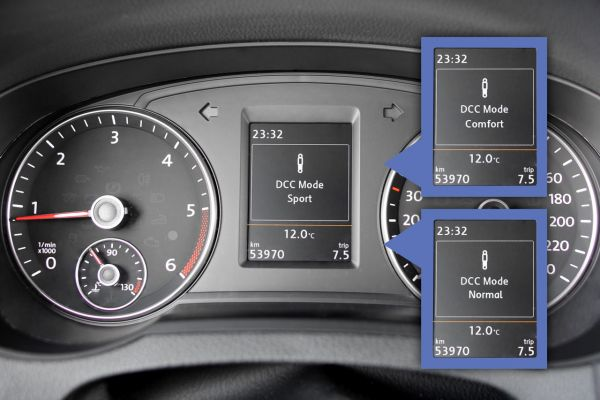 43558 - Kabelsatz elektronische Dämpferregelung DCC für VW, Seat