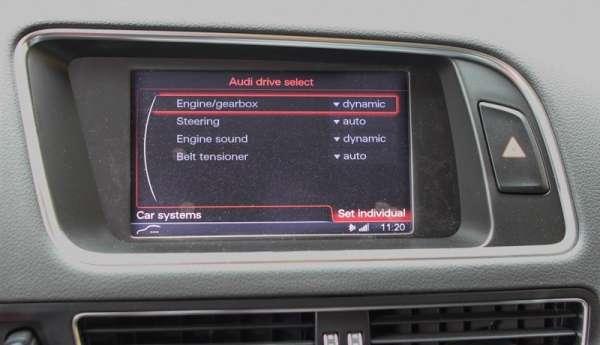 40230 - Active Sound inkl. Sound Booster für Audi A4 8K, A5 8T, Q5 8R