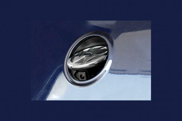 Emblem-Rückfahrkamera für VW Passat 3C Limousine Komplett (MFD2 / RNS2) - Ohne Hilfslinien