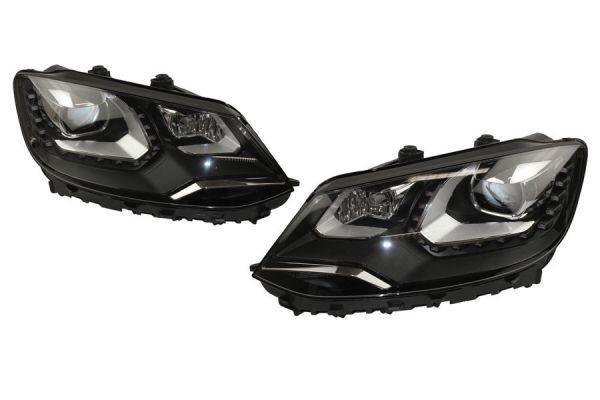38585 - Bi-Xenon Scheinwerfer-Set LED TFL für VW Sharan 7N - mit elektr. Dämpferregelung