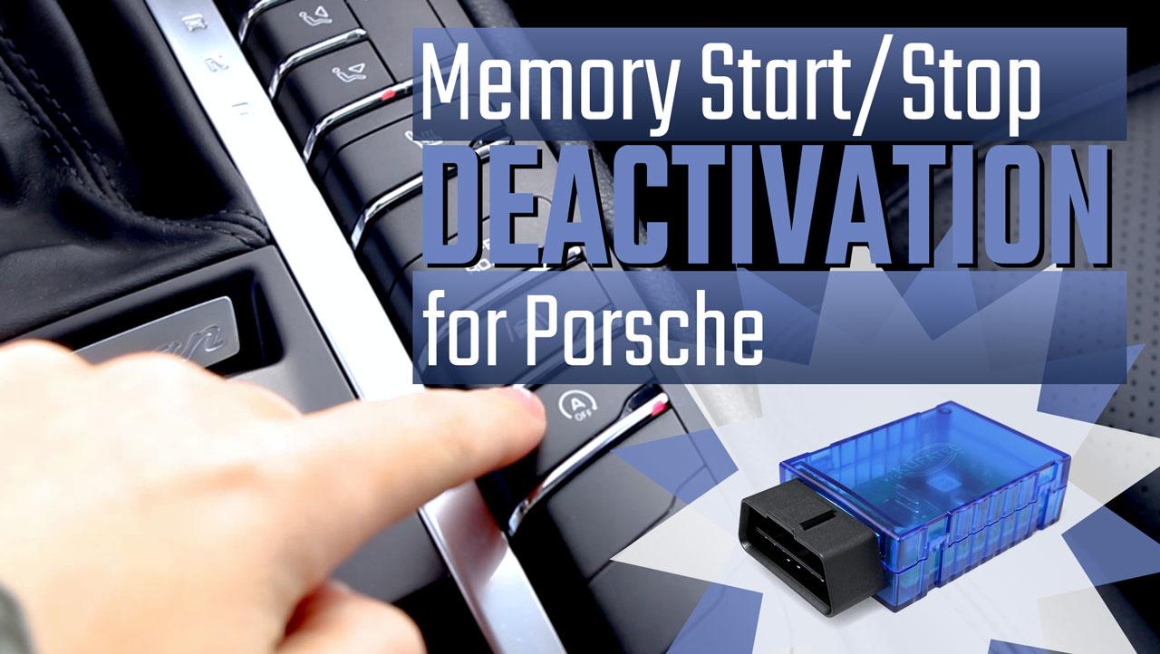 43130 - Codier-Dongle Deaktivierung Start/Stop für Porsche
