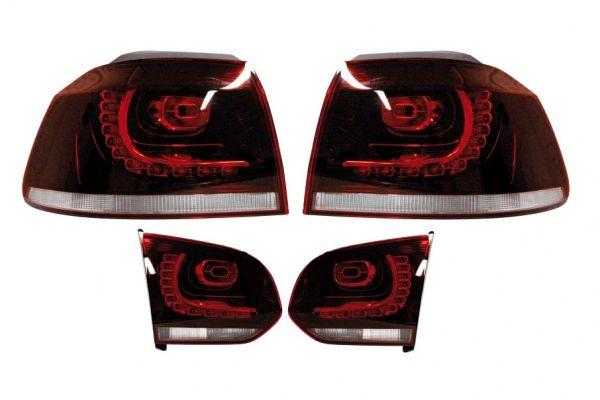 37656 - Komplett-Set LED-Heckleuchten für VW Golf 6 R Alle anderen