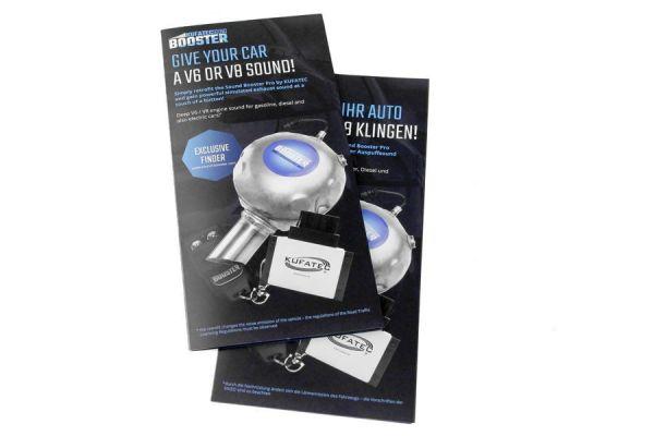42535 - Sound Booster Infoflyer Deutsch