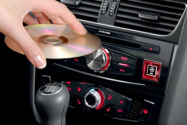 41342 - DVD Player für Audi A4, A5 und Q5