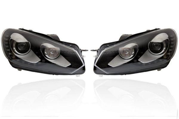 39869 - Bi-Xenon Scheinwerfer LED TFL für VW Golf 6