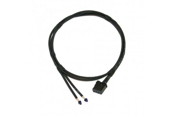 MOST LWL Lichtwellenleiter Kabelsatz Doppelpack, Schutzschlauch 1200 mm