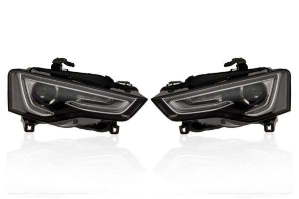 39883 - Bi-Xenon Scheinwerfer LED TFL für Audi A5 8T