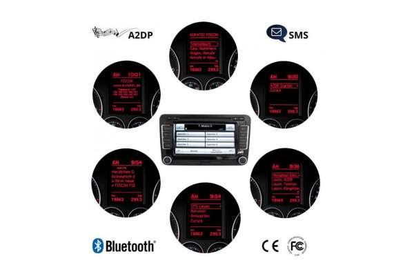 """36496 - FISCON Freisprecheinrichtung """"Basic-Plus"""" für VW, Skoda, Seat - ohne Deckenleuchten-Mikrofon Ohne Deckenleuchten Mikrofon"""