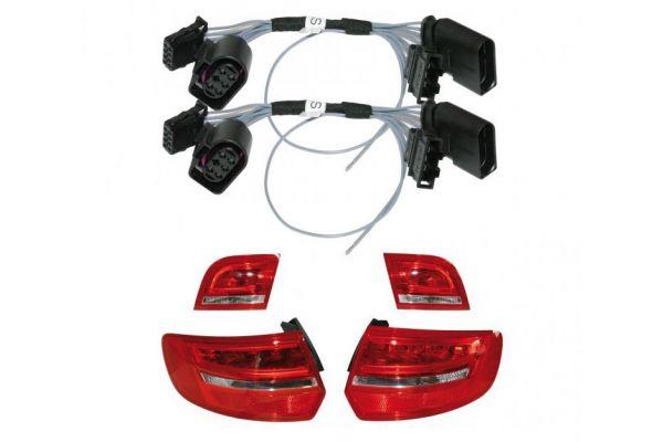 36507 - Adapter facelift Heckleuchten LED für Audi A3 8PA Sportback