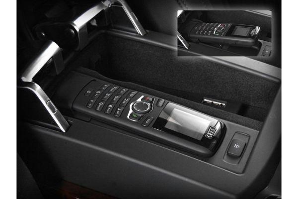 40473 - Nachrüst-Set SAP Bedienhörer Farbdisplay Audi Q7 4L