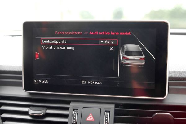 41755 - Active Lane Assist (Spurhalteassistent) inkl. Stauassistent für Audi A5 F5
