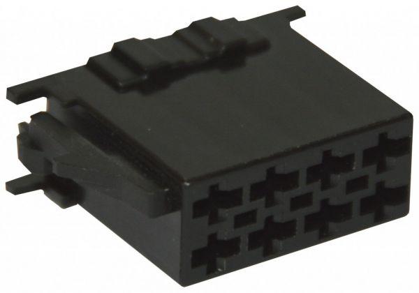 35481 - ISO Strom-Steckergehäuse 8-polig 10 Stück