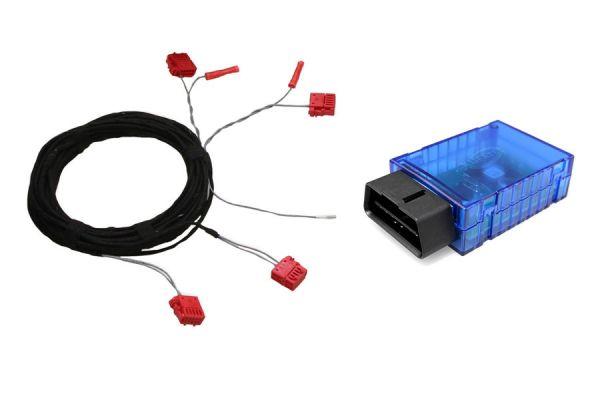 cable set coding dongle led facelift taillights audi a7 4g. Black Bedroom Furniture Sets. Home Design Ideas