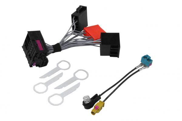 35713 - Audi Bundle Adapter Radio-, Navigationseinheit BNS 5.0, Concert 3 A3 8P, A4 8E - Sound 9VD