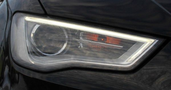 Bi Xenon Headlights Retrofit With Daytime Running Light For Audi A3 8v