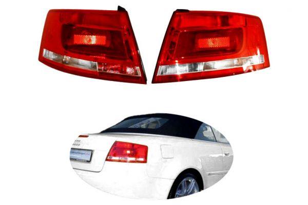 37078 - Facelift Heckleuchten LED original für Audi A4 8H Cabrio